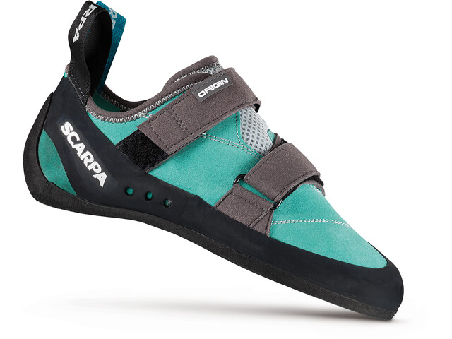 Scarpa Origin Kletterschuhe Damen green blue